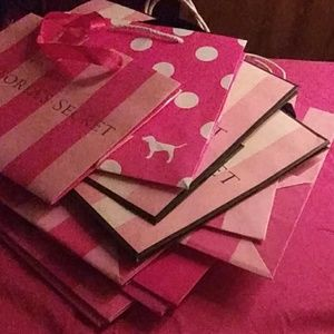 VS bags with 2 boxes